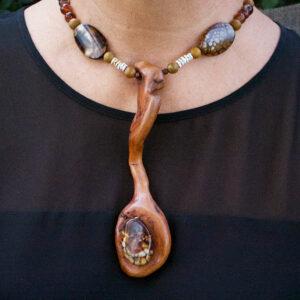 Sfraga Saga Taste of Life Statement Piece Necklace